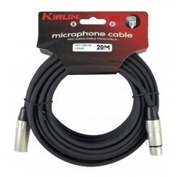 Cable Kirlin xlr-xlr 20 mts.