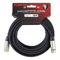 Cable Kirlin xlr-xlr 15 mts.